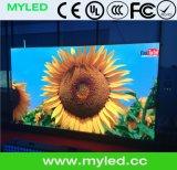 Alta visualización de LED a todo color de interior del contraste P2.0 con 400X300m m