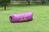 Im Freien aufblasbarer Luft-Nichtstuer, aufblasbarer Luft-Schlafsack, Laysack Bett/gelegter Beutel/Bananen-Schlafsack