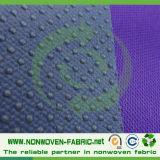 Tela não tecida antiderrapante material dos PP das solas descartáveis