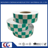 빨강 또는 Yellow Grid Design Reflective Conspicuity Tape (C3500-G)