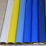 Винил передачи тепла яркия блеска/PU /PVC основал винил для тенниски & другой ткани