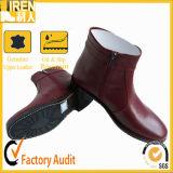 De zwarte Laarzen van de Enkel van Frice van de Fabriek van het Leer van de Koe van de Aard Militaire
