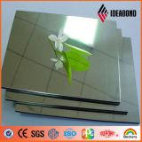 La plata plástica flexible material de la base del LDPE refleja los paneles compuestos de aluminio
