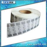 Etiqueta elegante pasiva del papel RFID de la frecuencia ultraelevada de ISO18000-6c