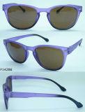 Óculos de sol F14286 plásticos superiores com frame fino