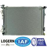 Radiador de alumínio refrigerando do carro para Hyundai 05 - sonata em