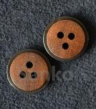Bouton libre de polo en métal de nickel de 100% pour la chemise des hommes