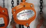 élévateur à chaînes de la main 1t/3t avec la chaîne G80