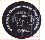 El almacenaje de repuesto de la rueda de la cubierta del neumático del coche del universal y lleva la cubierta del neumático del totalizador del sostenedor de la cubierta del bolso