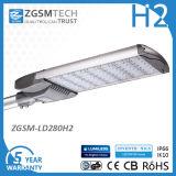 280W LED Straßenlaterne0-10V verdunkelnd