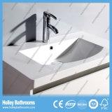 Mercancías sanitarias del fregadero doble de la pintura de lustre del interruptor del tacto del LED altas (BF176M)
