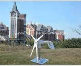 generador de viento horizontal 400W y sistema híbrido solar (100W-20kw)