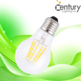A60 360度のDimmable E27 E26 B22 4W LED Filament Candle Lamp Filament LED Lighting LED Filament Bulb