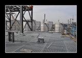 Stahlfußboden-Plattform-Vergitterung