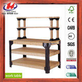 Banco di lavoro di legno di gomma della scheda della giuntura della barretta