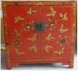 Het Chinese Antieke Kabinet van de Vlinder van het Meubilair