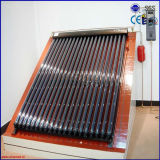 Chauffe-eau solaire pressurisé par fractionnement populaire de caloduc