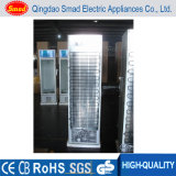 Equipamento para cafeteria Porta vertical de vidro Chiller Cold Showcase Display Refrigerators