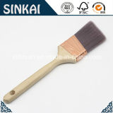 Eckiges Painting Brush mit Brushed Cooper Ferrule