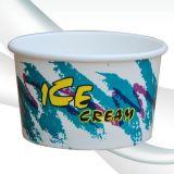 Подгоняйте бумажный стаканчик мороженного печатание