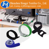 Justierbare Haken-u. Schleifen-Kabelbinder gurten unten mehrfachverwendbares