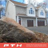 Casa da casa de campo da vila da construção de aço com estilo dos EUA