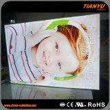 Магазин рекламируя коробку выставки Hanigng светлую