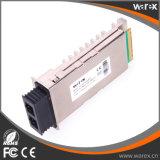 Ricetrasmettitore ottico compatibile 1550nm 80km SMF di X2-10GB-ZR 10GBASE X2