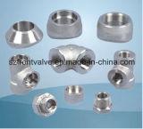Geschmiedete Stahl verlegte Hochdruckrohrfittings