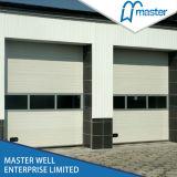 容易な上昇の側面の開始白の同じ高さの部門別の産業ドア