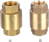 Válvula de verificação não do retorno da mola de válvula do bronze (YD-3002)