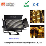 112PCS wärmen weißes LED-Flut-Licht