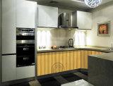 Europäische Entwurfs-Qualitäts-Küche-Möbel kundenspezifischer lamellenförmig angeordneter Küche-Schrank (neuer Entwurf 2016)