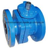Válvula de esfera do ferro de molde do RUÍDO com almofada de montagem