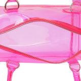 Wasserdichtes transparentes Silikon-Kissen-geformte Handtasche