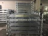 Páletes galvanizadas quentes resistentes Stackable do aço do armazém do borne