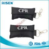 Het Masker van beschikbare Handschoenen en de Eerste hulp Keychain van het Schild van het Gezicht CPR