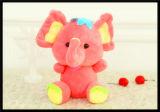 Het embleem paste het Gevulde Stuk speelgoed van de Jonge geitjes van de Pluche van het Speelgoed Zachte aan