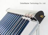 Sistema de aquecimento solar pressurizado separação de eficiência elevada