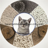 1-2mm runder aufhäufenkatze-Sand staubfrei; Geruch-Steuerung