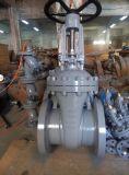 Запорная заслонка литой стали стали сплава Wc5 ANSI 300lb