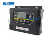 Suoer PWM regulador solar 12V 40A High Efficiency controlador de carga solar (ST-W1240)