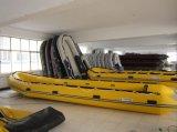 Bateau de pêche gonflable de radeau léger de fleuve de 4 mètres