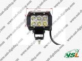 La meilleure qualité ! ! ! guide optique de 12V/24V 18W LED, 3W lumière de voiture de véhicules du CREE LED