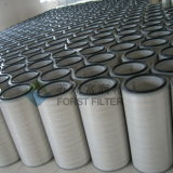 Élément de filtre à air plissé à poussière industrielle Forst