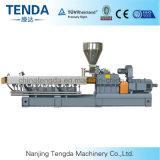 Gemaakte TweelingSchroef van China Tengda de naar huis de Plastic Machine van de Uitdrijving van het Blad