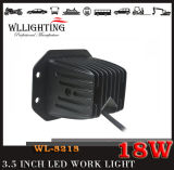 18W indicatore luminoso per la jeep fuori strada, indicatore luminoso dell'automobile del CREE LED del lavoro del LED