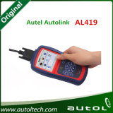 Autolink Al419 Obdii e pode varredor do varredor OBD2 do leitor de código auto ferramenta diagnóstica do auto