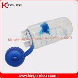 Bouteille promotionnelle de dispositif trembleur de la protéine 1000ml avec la poignée (KL-7552)