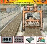 Передвижной блок яйцекладки делая машину делать кирпича цемента машины